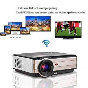 EUG HD WiFi Projecteur 3500 Lumens de la marque EUG image 0 produit