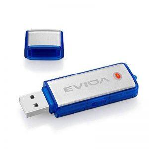 EVIDA USB Flash Drive Enregistreur vocal Mini petit disque 8G U avec fonction enregistreur(Enregistreur de lecteur flash_Bleu) de la marque EVIDA image 0 produit