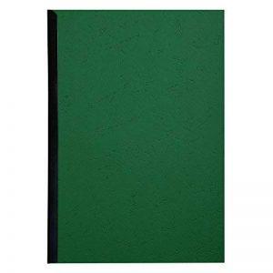 EXACOMPTA 2798C Un paquet de 100 couvertures FOREVER en carte rigide grain cuir 21x29,7 cm 270 g VERT foncé de la marque Exacompta image 0 produit