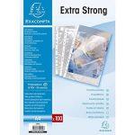 Exacompta - Réf. 5900E - Etui carton de 100 pochettes perforées haute résistance pour documents A4 - Polypropylène de la marque Exacompta image 2 produit