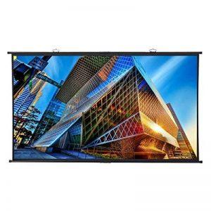 """Excelvan Écran de Projection100""""Diagonale 16: 9 1.1 Gain 160 ° Angle de Vision Portable Installation Rapide pour la Projection de Films de 4K HD Home Cinéma en Plein Air de la marque Excelvan image 0 produit"""