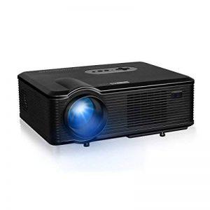Excelvan Vidéoprojecteur LED HD Théâtre Domestique 720P-1080P Projecteur 3D TV Digital / HDMI / VGA/ USB / AV 3000 Lumens - Noir de la marque Excelvan image 0 produit
