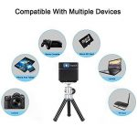 ExquizOn Vidéoprojecteur DLP S6 Mini Projecteur WiFi Support 1080P HD pour Home Cinéma de la marque ExquizOn image 2 produit