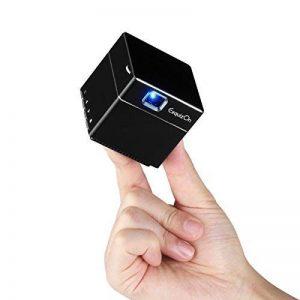 ExquizOn Vidéoprojecteur DLP S6 Mini Projecteur WiFi Support 1080P HD pour Home Cinéma de la marque ExquizOn image 0 produit