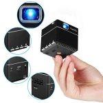 ExquizOn Vidéoprojecteur DLP S6 Mini Projecteur WiFi Support 1080P HD pour Home Cinéma de la marque ExquizOn image 1 produit