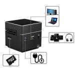 ExquizOn Vidéoprojecteur DLP S6 Mini Projecteur WiFi Support 1080P HD pour Home Cinéma de la marque ExquizOn image 3 produit