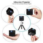 ExquizOn Vidéoprojecteur DLP S6 Mini Projecteur WiFi Support 1080P HD pour Home Cinéma de la marque ExquizOn image 4 produit