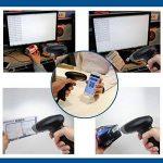Eyoyo Douchette 2D QR USB Laser Barcode Scanner CCD Bar Code Reader à la main pour Mobile Ordinateur Lecteur de Codes à Barres de la marque Eyoyo image 3 produit