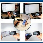 Eyoyo Lecteur Code Barre Wired Scanner QR Scanner de codes à barres Handheld Douchette 1D 2D USB CCD Barcode Reader (EY-001) de la marque Eyoyo image 1 produit