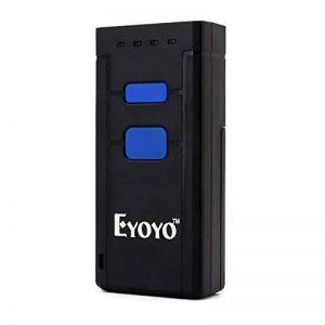 Eyoyo Mini Portable Lecteur de code barres Bluetooth Sans fil 1D QR Barcode Scanner 2D de la marque Eyoyo image 0 produit