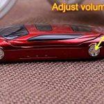 F15Mini Flip Voiture de Sport Style téléphone Dual sim Lecteur MP3/MP4Le Meilleur pour Enfants étudiants (Rouge) de la marque Newmid image 2 produit