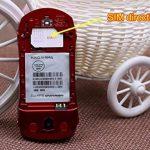 F15Mini Flip Voiture de Sport Style téléphone Dual sim Lecteur MP3/MP4Le Meilleur pour Enfants étudiants (Rouge) de la marque Newmid image 3 produit
