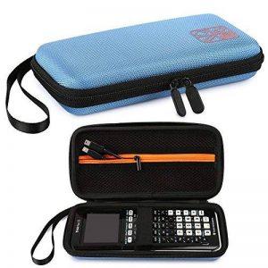 Faylapa Stockage de cas de transport pour la calculatrice graphique Texas Instruments TI-83 plus TI-84 plus CE EVA sac de voyage sac de protection (Blue) de la marque Faylapa image 0 produit
