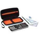 Faylapa Stockage de cas de transport pour la calculatrice graphique Texas Instruments TI-83 plus TI-84 plus CE EVA sac de voyage sac de protection (Blue) de la marque Faylapa image 3 produit
