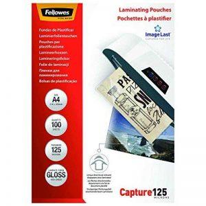 Fellowes 5307407 Pochettes de Plastification A4 125 microns par 100 de la marque Fellowes image 0 produit