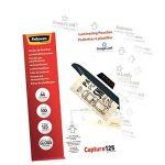 Fellowes 5307407 Pochettes de Plastification A4 125 microns par 100 de la marque Fellowes image 2 produit
