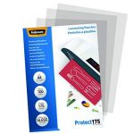 Fellowes 5308703 Protect 175 microns A4 pochettes de plastification brillantes - Pack de 100 Transparent de la marque Fellowes image 1 produit