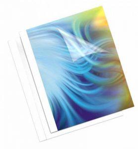 Fellowes 53141 Couverture Pré-encollées à Reliure Thermiques - Lot de 100 - Blanc de la marque Fellowes image 0 produit