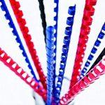 Fellowes 5348902 - Pack de 50 Anneaux plastiques - 28 mm A4 - Noir de la marque Fellowes image 2 produit