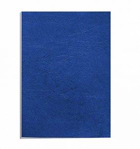 Fellowes 5371305 Delta - Pack de 100 A4 Couvertures de reliure Grain Cuir B29 - Bleu royal de la marque Fellowes image 0 produit