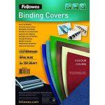 Fellowes 5371305 Delta - Pack de 100 A4 Couvertures de reliure Grain Cuir B29 - Bleu royal de la marque Fellowes image 1 produit