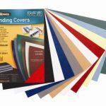 Fellowes 5371305 Delta - Pack de 100 A4 Couvertures de reliure Grain Cuir B29 - Bleu royal de la marque Fellowes image 3 produit