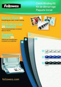 Fellowes 5371801 Kit de consommables pour 20 reliures plastique de la marque Fellowes image 0 produit