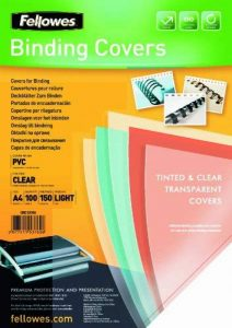 Fellowes 5376001 Couvertures A4 Transparent Lot de 100 de la marque Fellowes image 0 produit