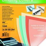 Fellowes 5376001 Couvertures A4 Transparent Lot de 100 de la marque Fellowes image 1 produit