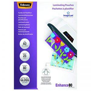 Fellowes 5396403 Pochettes de Plastification ImageLast A3 80 Microns - Paquet de 25 de la marque Fellowes image 0 produit