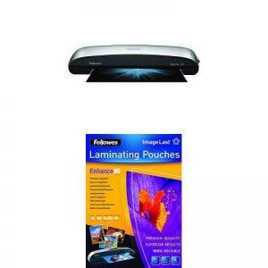 Fellowes Spectra Plastifieuse de Documents Format A3 + 100 pochettes Pochettes de plastification A4 80 de la marque image 0 produit