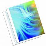 Fellowes Standard Couverture de reliure Thermique 12 mm Blanc de la marque Fellowes image 1 produit