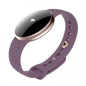 Fitness Tracker, Femmes Smart Watch pour Andriod iPhone avec fréquence cardiaque Moniteur de sommeil Podomètre Appareil photo Télécommande Appel SMS Rappel Rappel sédentaire de la marque BOZLUN image 0 produit