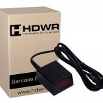 Fixe USB Professional automatique Auto Barcode Scanner code-barres Lecteur de Black Metal avancée de la marque HDWR image 1 produit