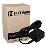 Fixe USB Professional automatique Auto Barcode Scanner code-barres Lecteur de Black Metal avancée de la marque HDWR image 2 produit