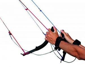 Flexifoil ProLink 4poignées de ligne (avec sangle de sécurité) Recommandé Gear de contrôle pour Flexifoil Rage cerfs-volants. confortable, sûr et durable–complet avec remboursement de 90jours de la marque Flexifoil image 0 produit
