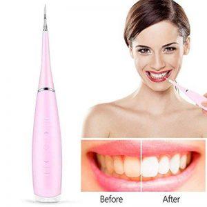 Flossers de l'eau pour les dents, sans fil Portable USB Rechargeable Oral Irrigator Oral Irrigation dentaire Calculus Retrait Tartare Clean pour la maison et Voyage(rose) de la marque Yotown image 0 produit