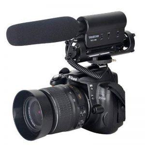 Fotga DV stéréo Microphone Mic pour caméra 3.5mm appareil photo reflex numérique Nikon D300S/D4/D35/D5100/D800/D3200/D7000 Canon 5D 5D3 7D 550D 60D 600D 5D 650D de la marque Fotga image 0 produit