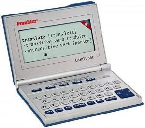 Franklin - BFQ-575 - Dictionnaire Électronique Larousse Français/Anglais de la marque Franklin image 0 produit