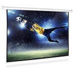 Frontstage - Ecran de projection déroulant pour vidéoprojecteur home cinema de qualité HD - toile de 150x150cm, diagonale de 203cm, format 1:1 - facteur de gain 1.0 de la marque Frontstage image 1 produit