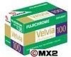 Fuji Velvia 100 Pellicule photo Diapositive couleur 135 (35 mm) ISO 100 36 poses de la marque Fujifilm image 0 produit