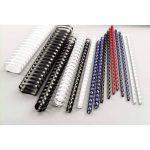GBC - 100 Reliures à Spirales ComBind en Plastique - 8mm Format A4 - Bleu de la marque GBC image 3 produit