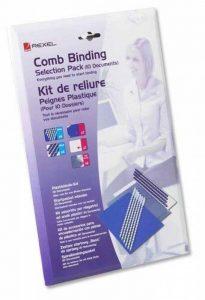 GBC CombBind Kit pour Reliures spirale plastique Format A4 de la marque GBC image 0 produit