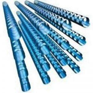 GBC CombBind Pack de 100 Reliures spirale plastique 12 mm Bleu de la marque GBC image 0 produit