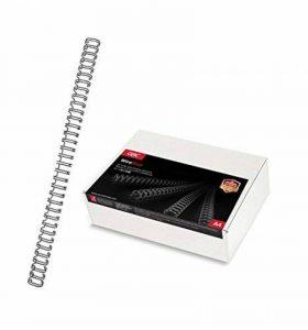 GBC Peignes métalliques WireBind, format A4, capacité 85 feuilles (9,5mm, noir, lot de 100) de la marque GBC image 0 produit