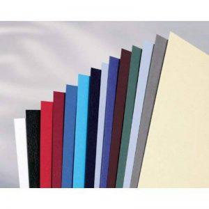 GBC Plats de couverture A4 grain cuir LeatherGrain (250g/m2, gris foncé, lot de 100) de la marque GBC image 0 produit
