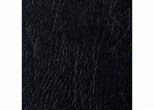 GBC Plats de couverture A4 grain cuir LeatherGrain (250g/m2, noir, lot de 50) de la marque GBC image 0 produit