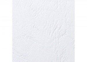 GBC Plats de couverture grain cuir LeatherGrain, format A5 (250g/m2, blanc, lot de 100) de la marque GBC image 0 produit