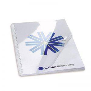 GBC Plats de Couverture HiClear, format A3 (180 microns, transparent, lot de 100) de la marque GBC image 0 produit