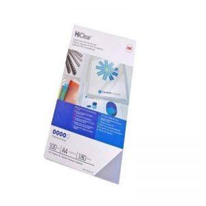 GBC Plats de Couverture HiClear, format A4 (200microns, super transparent, lot de 100) de la marque GBC image 0 produit